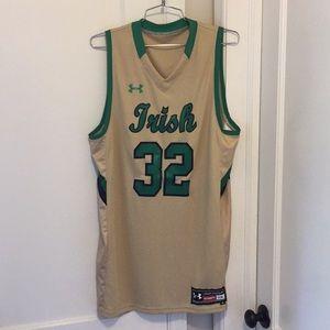 Notre Dame Fighting Irish men's basketball jersey